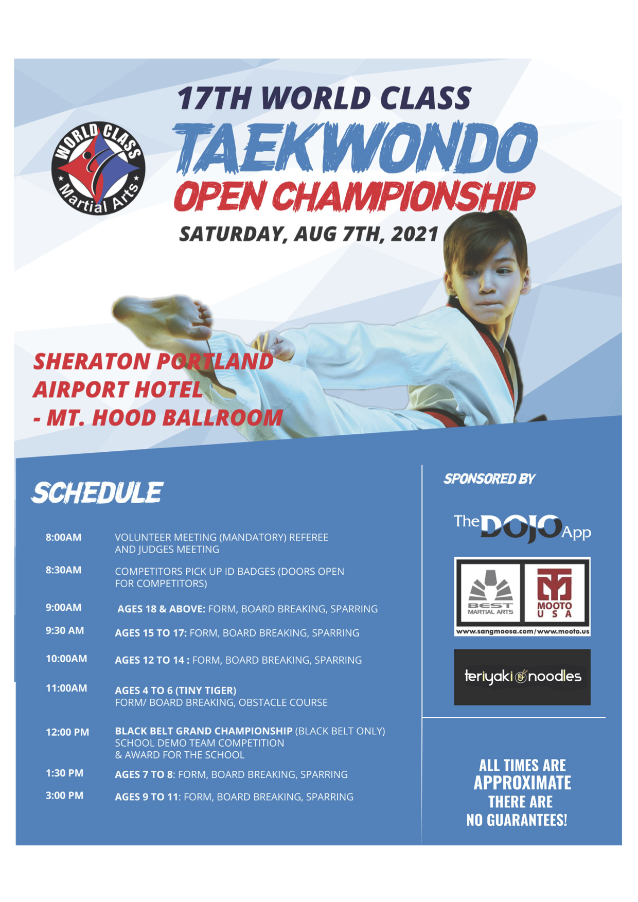 2021 WCMA Open Championship